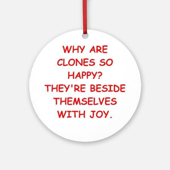 cloning Ornament (Round)