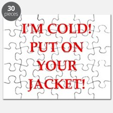 mom is cold Puzzle