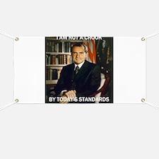 i am not a crook Banner
