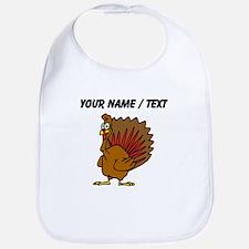 Custom Cartoon Turkey Bib
