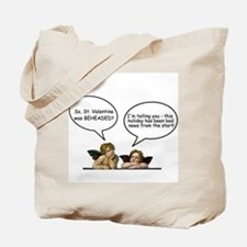 Cherubs Valentine Banter Tote Bag