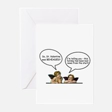 Cherubs Valentine Banter Greeting Cards (Package o