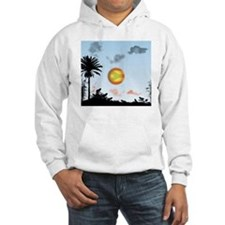 Coqui Frog and the Flag of Puert Hoodie