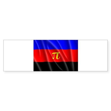 POLYAMORY FLAG Bumper Sticker