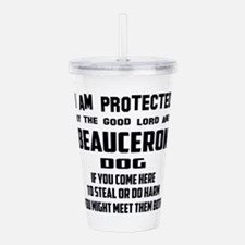 I am protected by the Acrylic Double-wall Tumbler