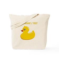 Custom Rubber Duck Tote Bag