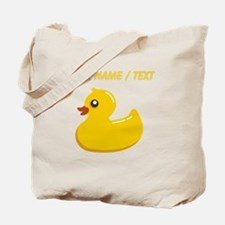 Custom Rubber Duck Tote Bag