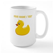 Custom Rubber Duck Mugs