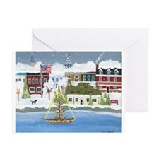 Annapolis At Christmas Greeting Cards (Pk Of 10)