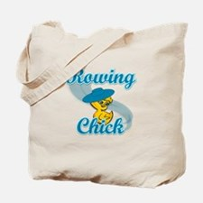 Rowing Chick #3 Tote Bag