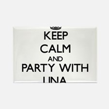 Keep Calm and Party with Lina Magnets