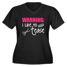I like to tease Plus Size T-Shirt