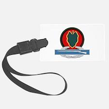 24th Infantry CIB Luggage Tag