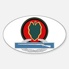 24th Infantry CIB Decal