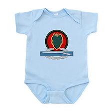 24th Infantry CIB Infant Bodysuit