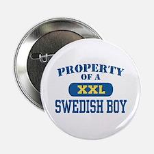 property of a swedish boy Button