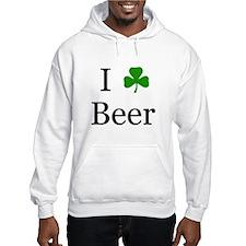 I Love Beer (Irish) Hoodie