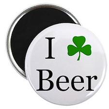 I Love Beer (Irish) Magnet
