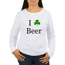 I Love Beer (Irish) T-Shirt