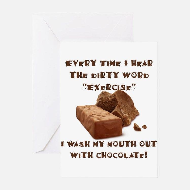 Chocolate Greeting Cards