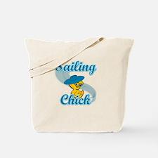 Sailing Chick #3 Tote Bag