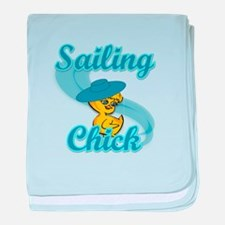 Sailing Chick #3 baby blanket
