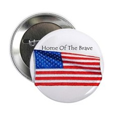 "home of the brave 2.25"" Button"