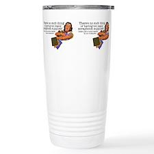 Unique Scrapbook supplies Travel Mug