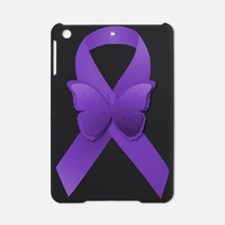 Purple Awareness Ribbon iPad Mini Case