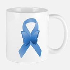 Blue Awareness Ribbon Mug