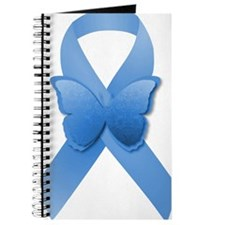 Blue Awareness Ribbon Journal