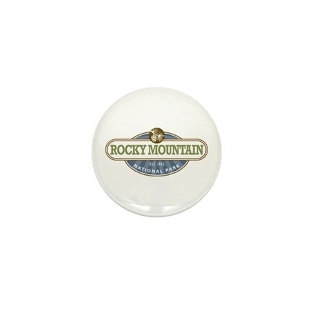 Rocky Mountain National Park Mini Button (10 pack)