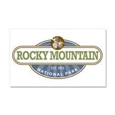 Rocky Mountain National Park Car Magnet 20 x 12
