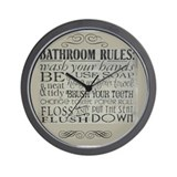 Bathroom clocks Wall Clocks