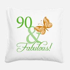 fabulousII_90 Square Canvas Pillow