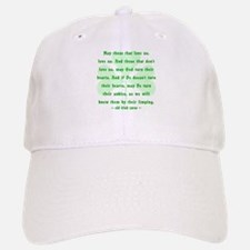 Irish Curse or Toast Baseball Baseball Cap