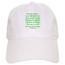 Irish Curse or Toast Baseball Cap