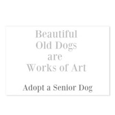 Beautiful old dogs Postcards (Package of 8)