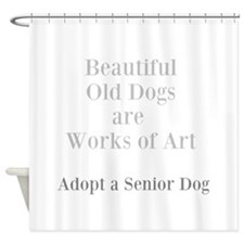 Beautiful old dogs Shower Curtain