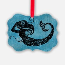 mermaid-worn_12x18 Ornament
