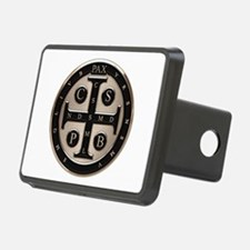 St. Benedict Medal Hitch Cover