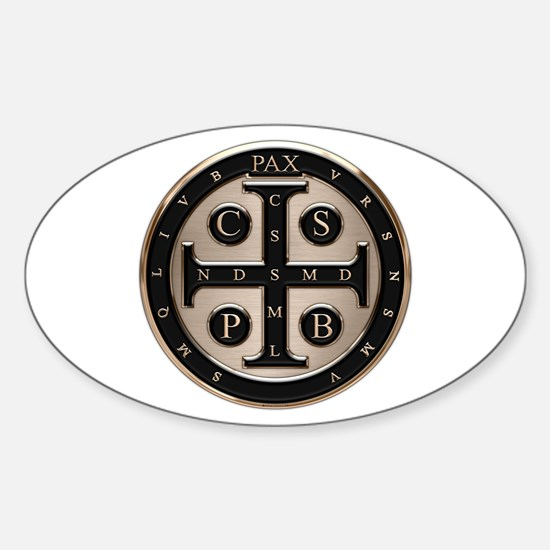 St. Benedict Medal Decal