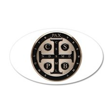 St. Benedict Medal Wall Decal