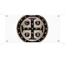 St. Benedict Medal Banner