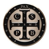St benedict medal Round Car Magnets