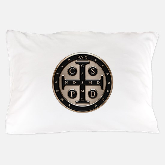 St. Benedict Medal Pillow Case
