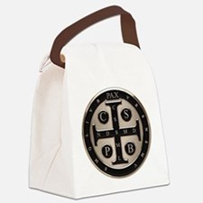 St. Benedict Medal Canvas Lunch Bag