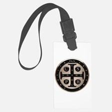 St. Benedict Medal Luggage Tag