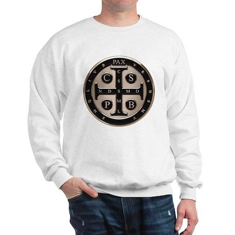 St. Benedict Medal Sweatshirt