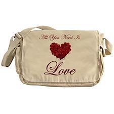 t-allyouneedis_love_red_rose-7 Messenger Bag